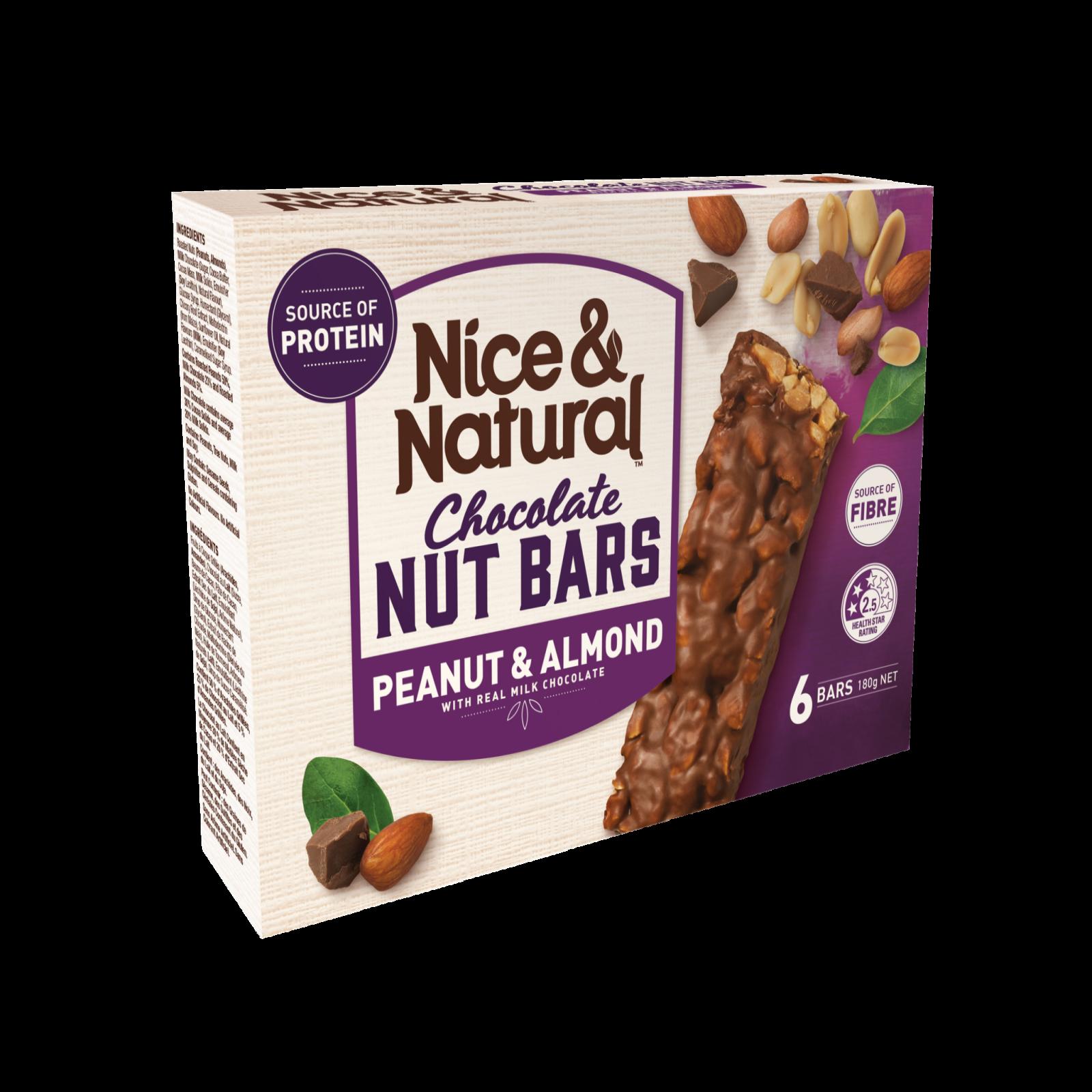 Peanut & Almond Chocolate Nut Bar product image